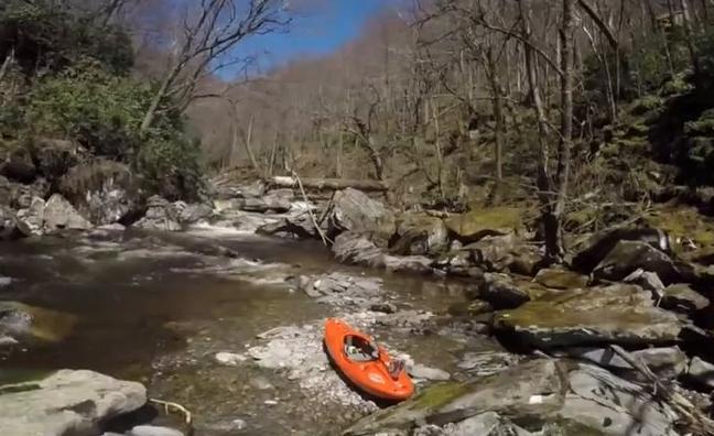 GoPro Kayaking Raven Fork