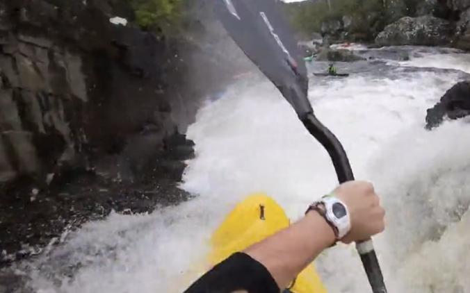 Wet West Paddle Fest 2015 - River Moristion