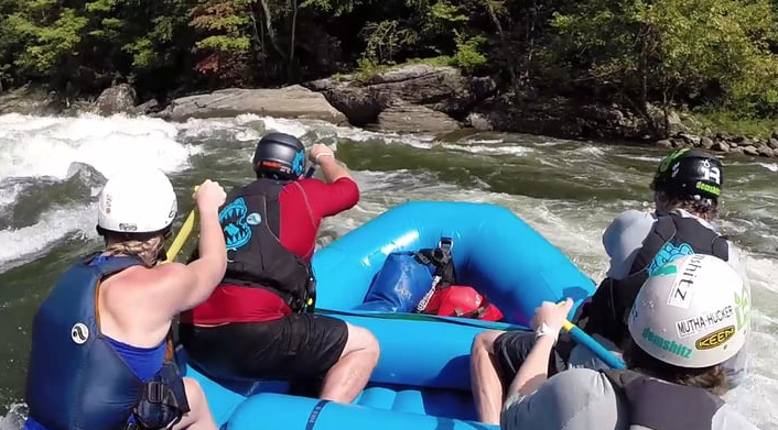 Demshitz Rafting Upper Gauley 2015