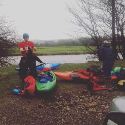 Stuck In A Weir And A Kayaking Rut