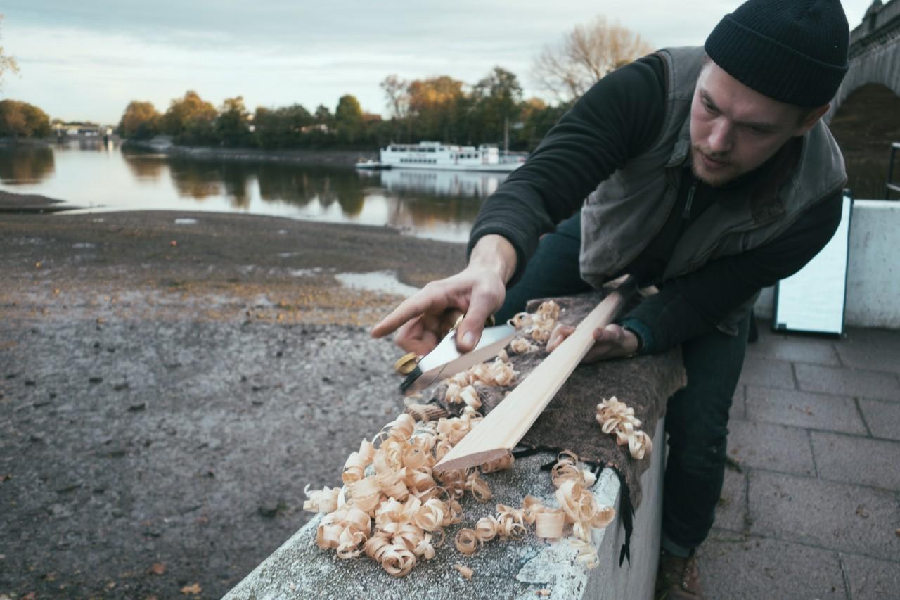 Traditional Kayak Building Comes To Scotland