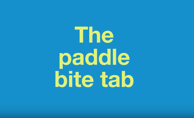 The Paddle Bite Tab