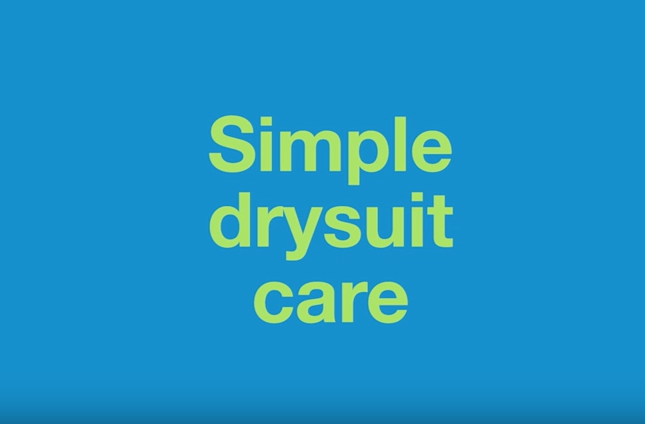 Simple Drysuit Care