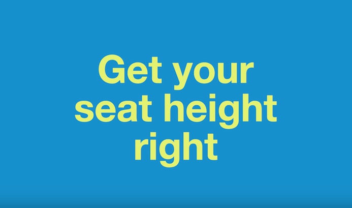 Top Tips – Get Your Seat Height Right