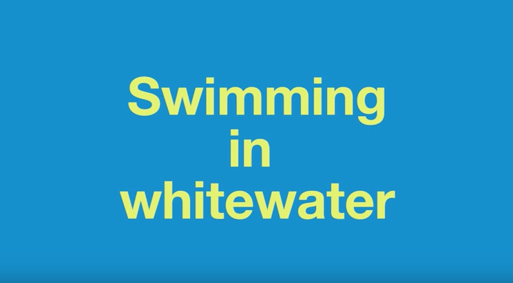 Top Tips - Swimming In Whitewater