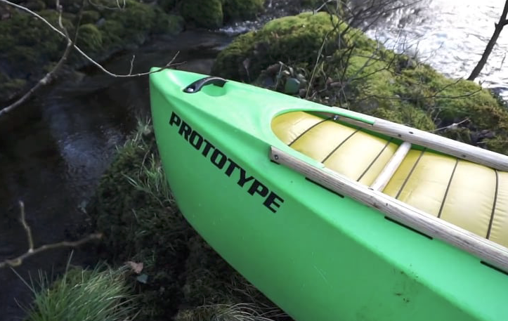 Silverbirch Canoes - Rebel Prototype