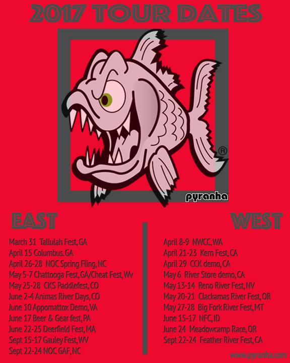 Pyranha US Tour 2017