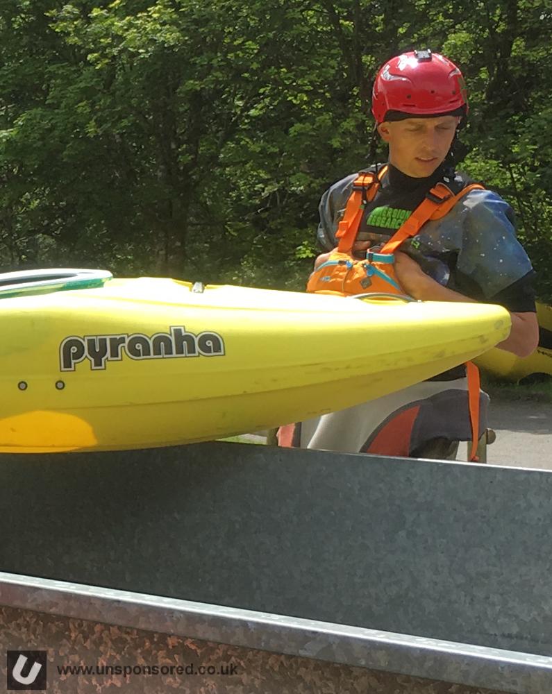New Pyranha Kayak