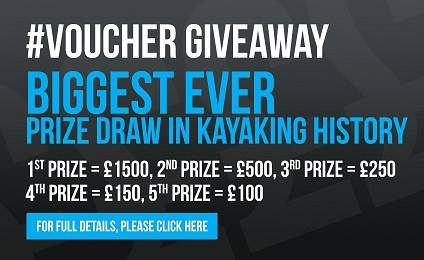 Kayaks Biggest Ever Free Prize Draw