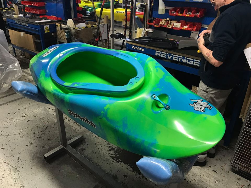 Pyranha Kayaks - Custom Colours