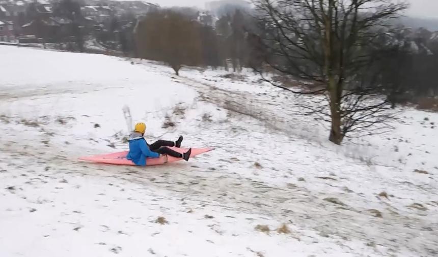 Kayak Sledging