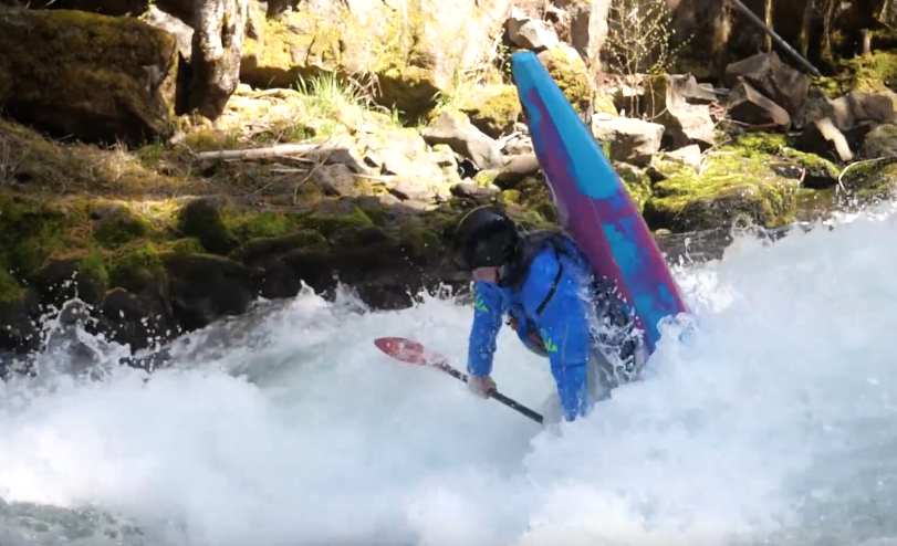 How To Get Vertical In Your Kayak