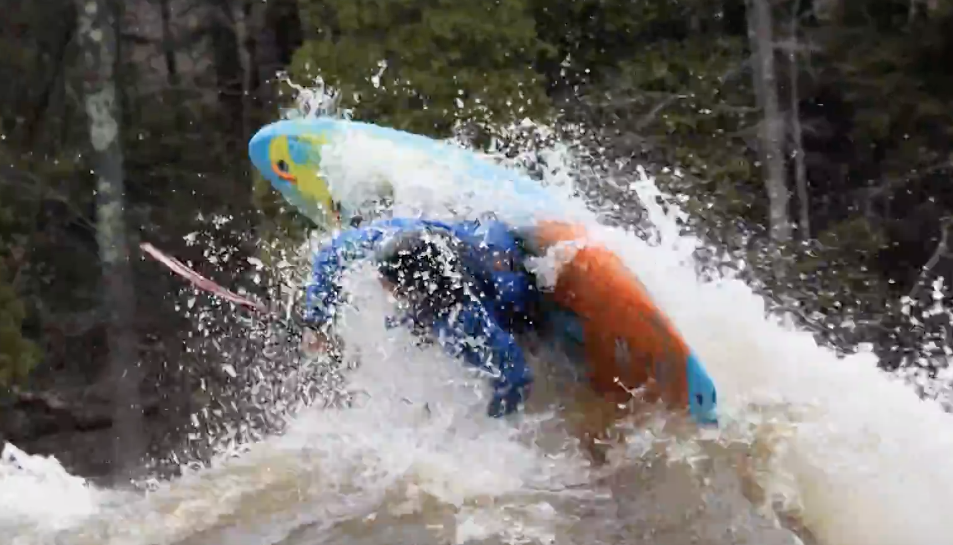 How To Kickflip Your Kayak With Bren Orton