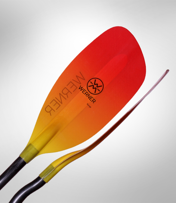 New Whitewater Paddles From Werner
