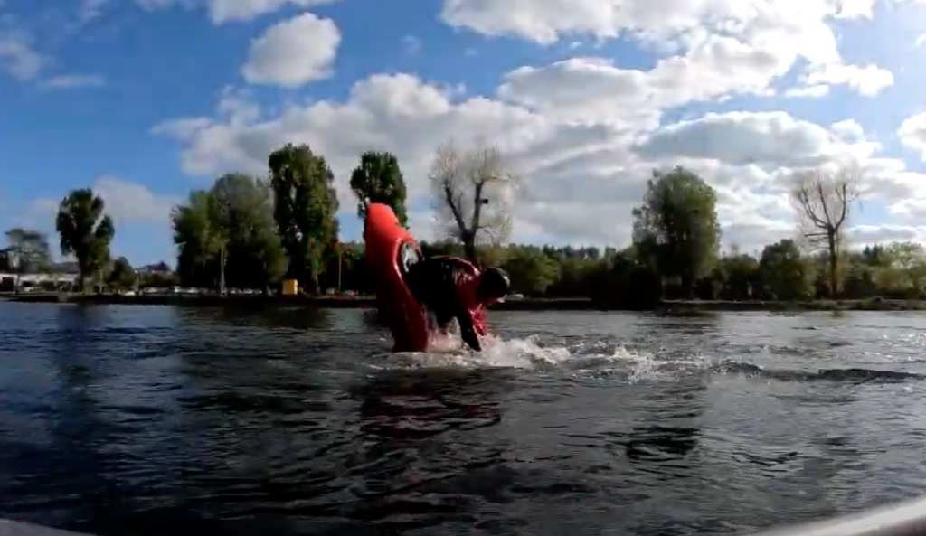 Flatwater Freestyle Kayaking Tutorial: How to Front Loop