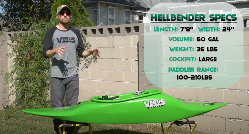 Verus Kayaks - Hellbender Walkthrough